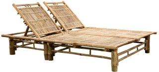 VidaXL Solseng bambus for to personer