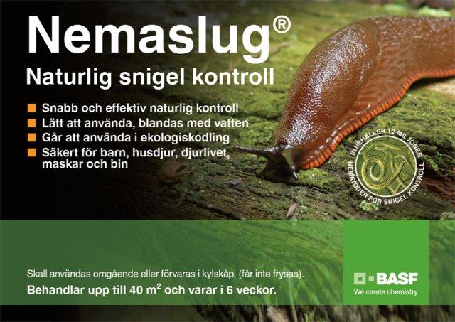 Nemaslug sneglebekjempelse 40m2