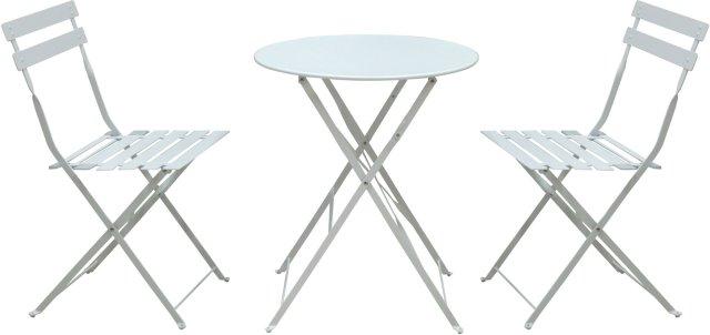 OBI Cafebord med to stoler