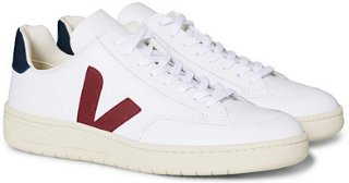 V-12 Leather Sneakers (Herre)