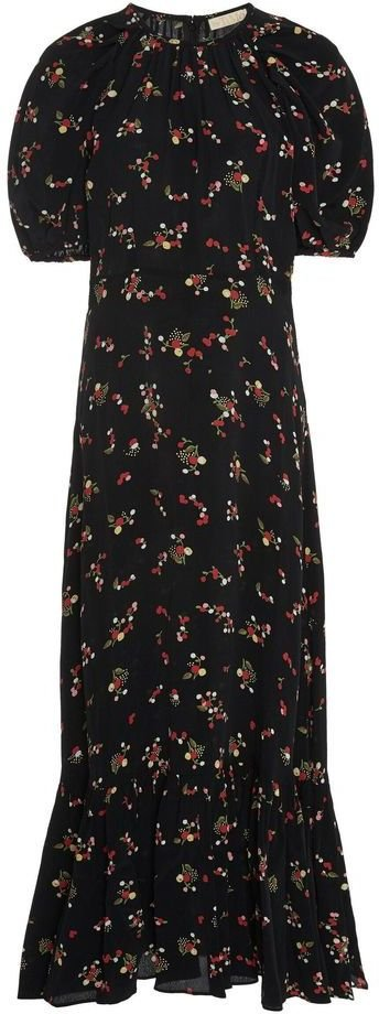 byTiMo Flounce Midi Dress