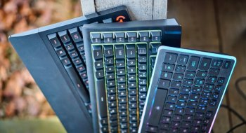Deltaco gam 028 mekanisk gaming tastatur fra Obs