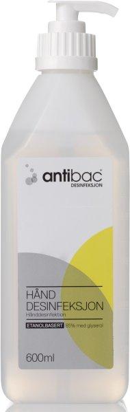 Antibac Hånddesinfeksjon 600ml