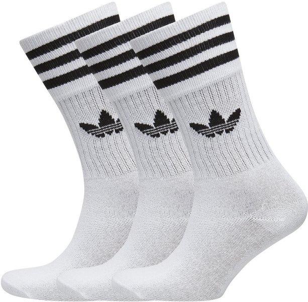 Adidas Originals Solid Crew Sock 3-pack (Unisex)