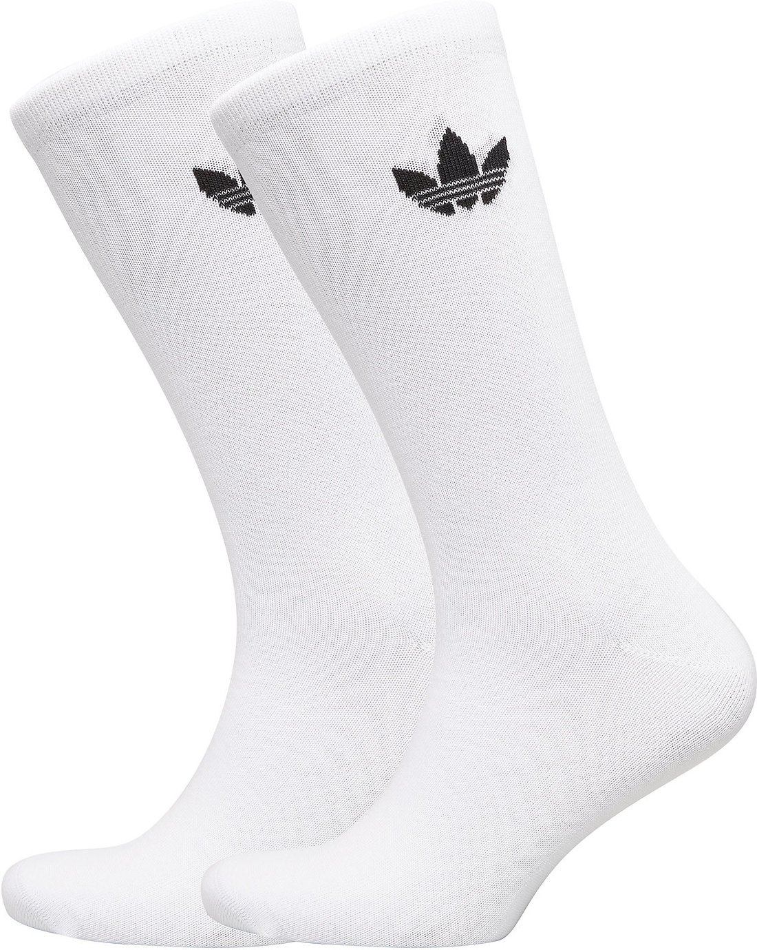 Adidas Originals Thin Trefoil Crew Socks (2 pack)