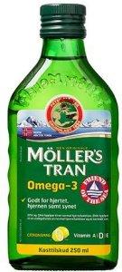 Møllers Tran Omega-3 Sitron 250ml