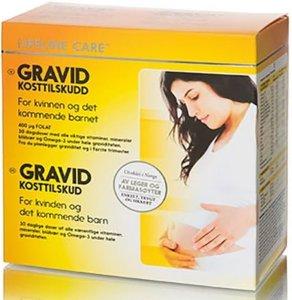 Gravid kosttilskudd