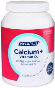 Calcium+ Vitamin D3 120 tabletter