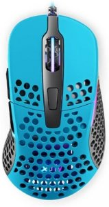 Xtrfy M4 RGB Gaming Mouse Miami Blue 16000dpi Mus Kablet Blå