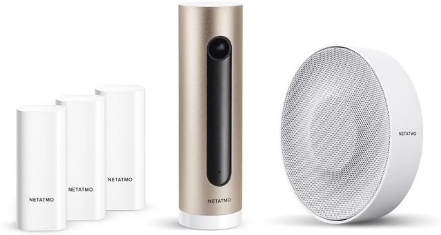 Netatmo Smart Alarm System with Camera