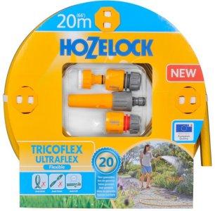 """Hozelock Ultraflex 20m 1/2"""" m/koblinger"""