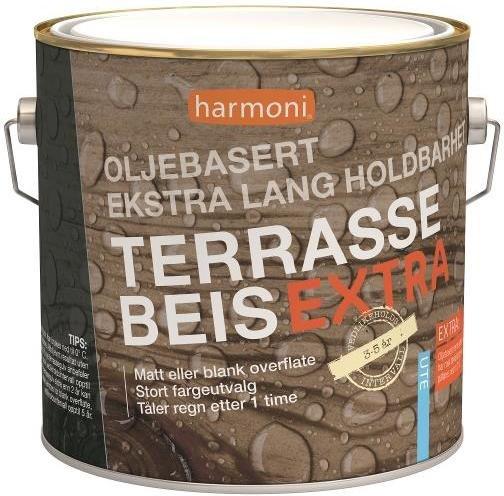 Harmoni Terrassebeis Extra (2,7 liter)