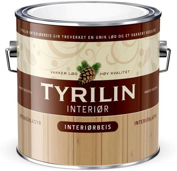 Tyrilin Interiørbeis (2,7 liter)