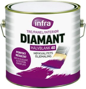 Diamant Silkematt 15 (2,7 liter)