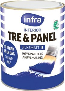 Tre & Panel Silkematt 15 (0,68 liter)