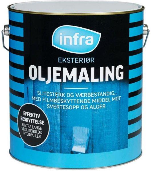 Infra Oljemaling (9 liter)