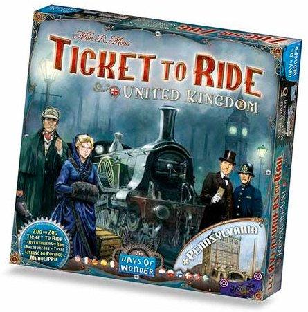 Days of Wonder Ticket to Ride United Kingdom
