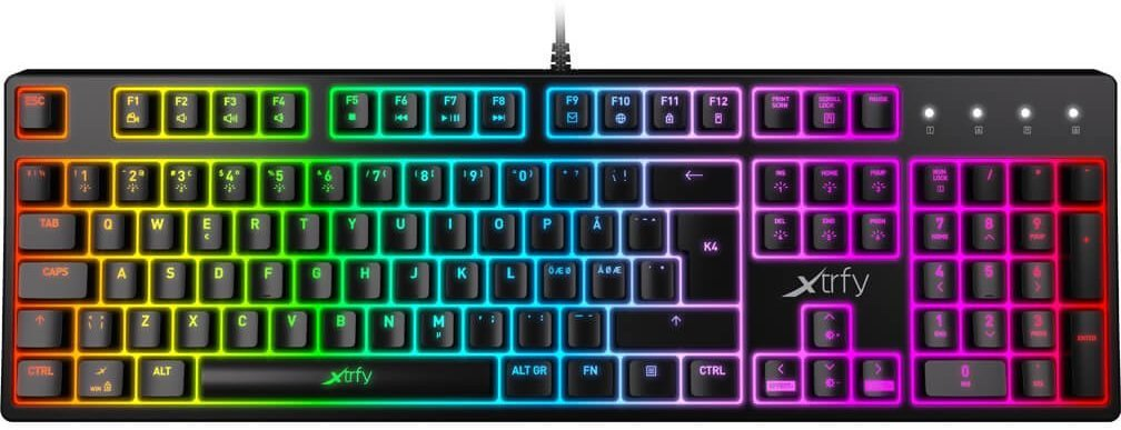Best pris på Xtrfy K4 RGB TKL Se priser før kjøp i Prisguiden
