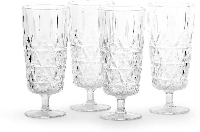Sagaform Picknick champagneglass 4 stk