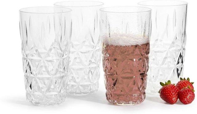 Sagaform Picknick drikkeglass 4 stk