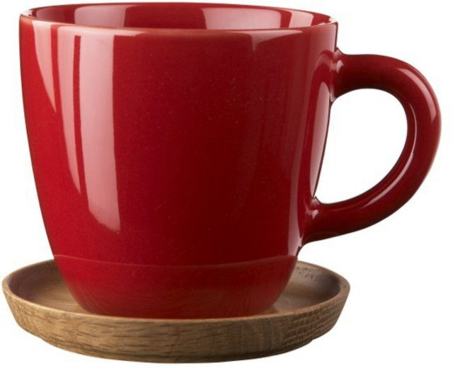 Höganäs Keramik Kaffekopp 33cl med fat