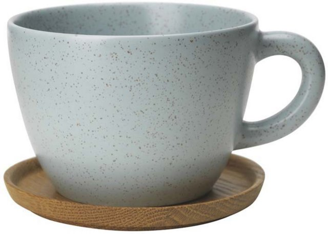 Höganäs Keramik Tekopp 50cl med fat