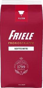 Friele Kaffe Koffeinfri filtermalt 250g 12 poser