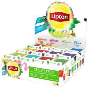 Lipton Assortert displayboks 180 stk