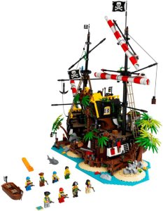 LEGO Ideas 21322 Sjørøverne i Barrakudabukta