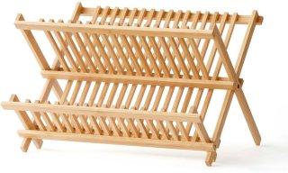 Oppvaskstativ bambus