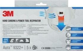 9322+ FFP2 m/ventil (5 pk)
