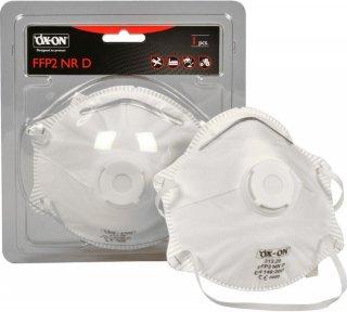 FFP2 NR D m/ventil (1 pk)