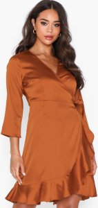 Vero Moda Henna Satin Dress