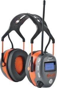 DAB+ hørselvern med Bluetooth