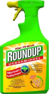 Roundup ugressmiddel spray 1 liter