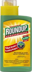 Roundup ugressmiddel konsentrat 540 ml