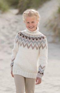 Viking genser til barn Sandnes Garn