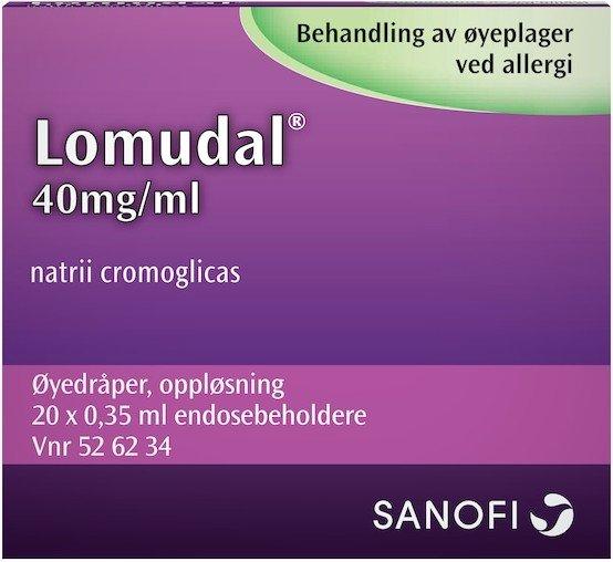 Sanofi Lomudal 40mg/ml 20x0,35ml