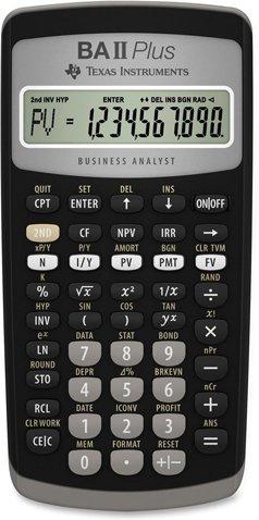 Texas Instruments TI‑BAII Plus