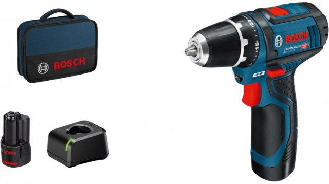Bosch GSR 12V-15 Bag (2x2,0Ah)