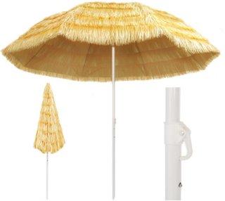 Strandparasoll 300cm Hawaii-stil