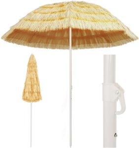 Strandparasoll 240cm Hawaii-stil