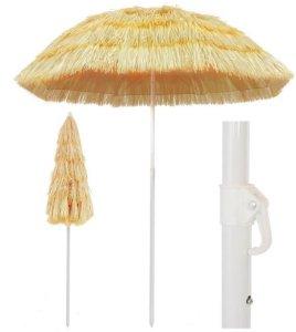 Strandparasoll 180cm Hawaii-stil