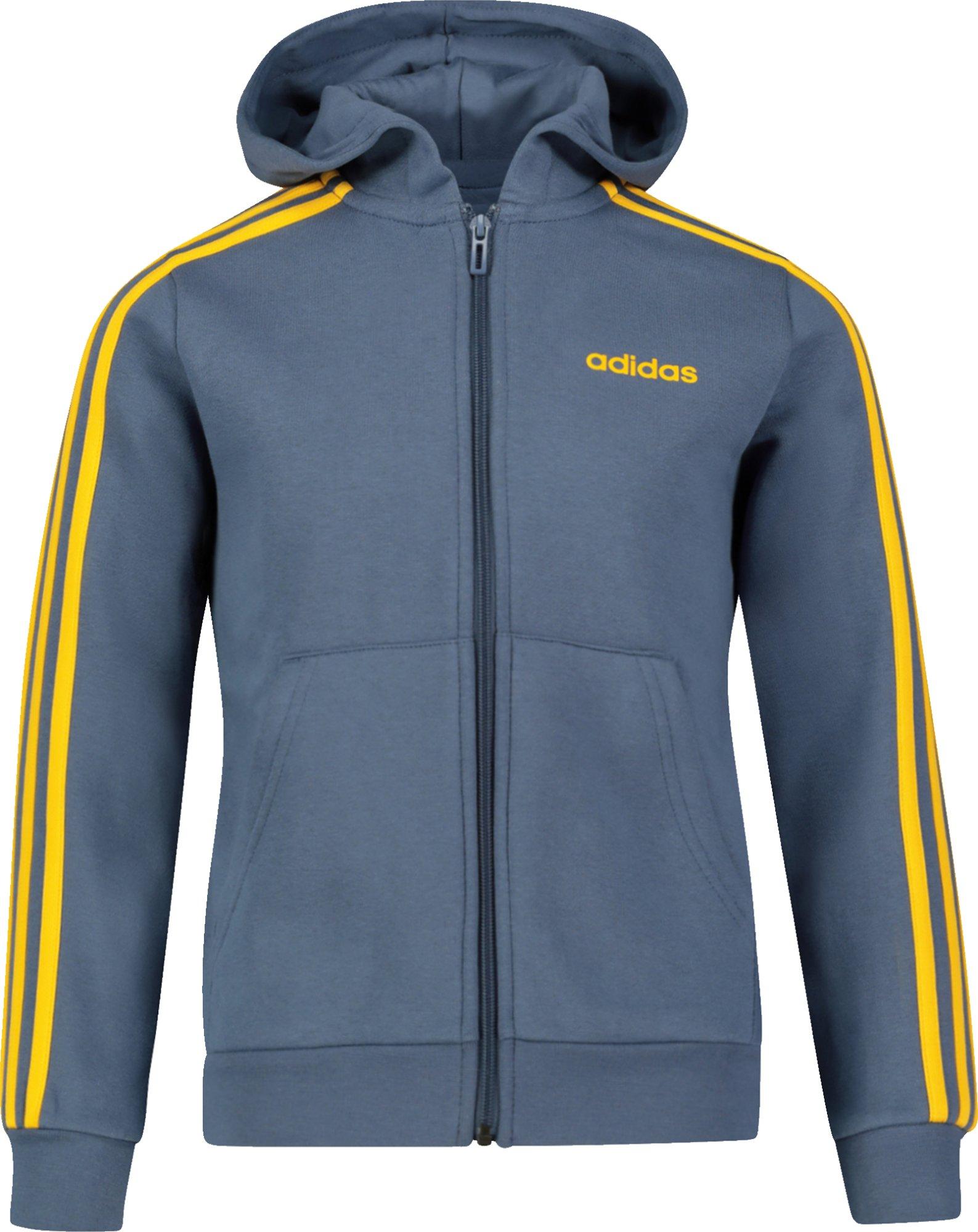 Adidas Essentials 3 stripes Hoodie (Barnjunior)