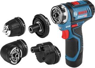 Bosch GSR 12V-15 FC 5-i-1 FlexiClick (uten batteri)