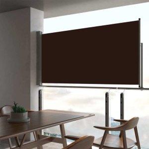 VidaXL Uttrekkbar sidemarkise 80x300cm