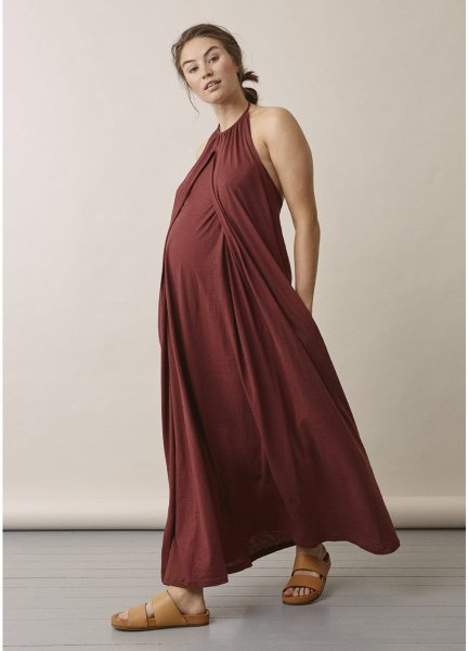 Boob Air Halterneck Dress (Gravid-/ammekjole)