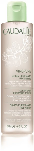 Caudalie Vinopure Cear Skin Purifying Toner 200ml