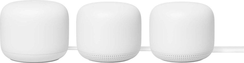 Google Nest Wifi Mesh System 3-pk