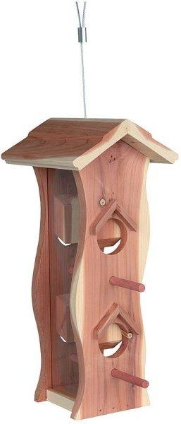 Trixie fuglemater av tre